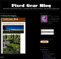 Fixed Gear Blog