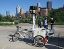 The Google Trike was spotted on the South Side Trail, Pittsburgh, over the summer