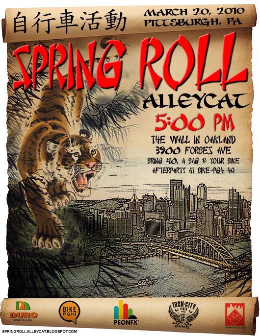 Spring Roll flyer