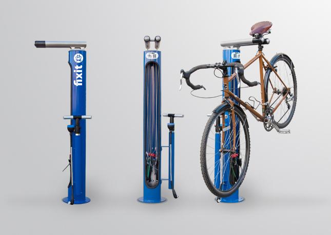 Dero Fixit Public Bike Repair Station Urban Velo