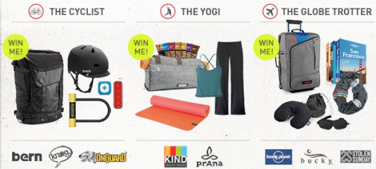 timbuk2 good gift sweepstake