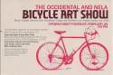 nela bike art show flyer