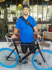 john-with-bike