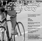 "Do you love ""I Love Riding in the City""?"