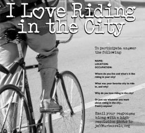 Do you love I Love Riding in the City?