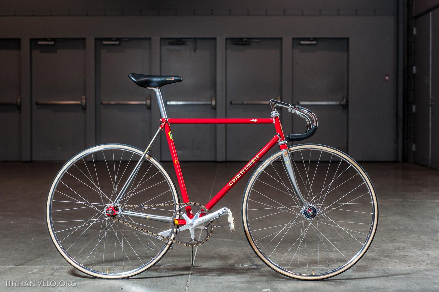 Cherubim Njs Track Bike At Nahbs Urban Velo