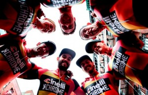 The Cinelli Chrome Fixed Crit Racing Team