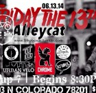 Friday the 13th Alleycat in San Antonio