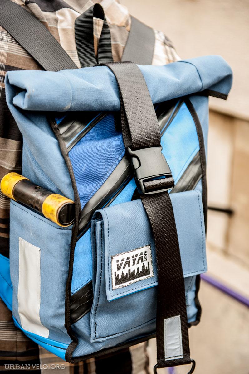 7c831ea22602 Vaya Bags Blue Lagoon Rolltop Backpack Review