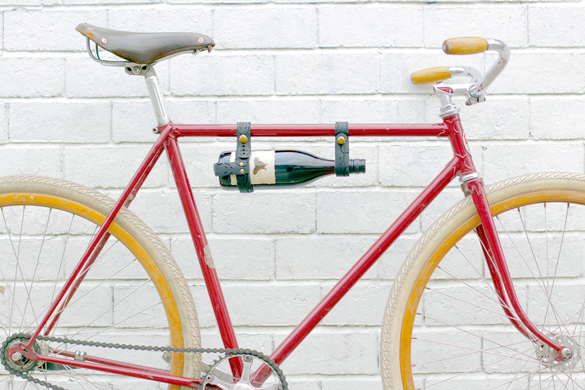 Vegan Bicycle Wine Holder Urban Velo