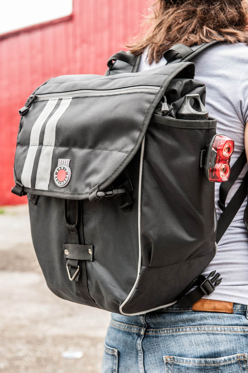 Banjo Brothers Convertible Waterproof Pannier Backpack Review ...