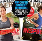 Scott Spitz on the cover of Runner's World